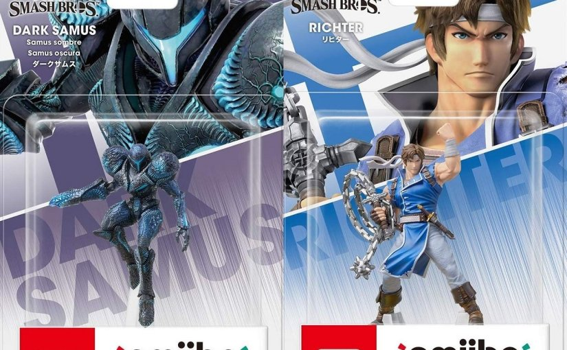 Are Richter and Dark Samus' amiibo already in the game?