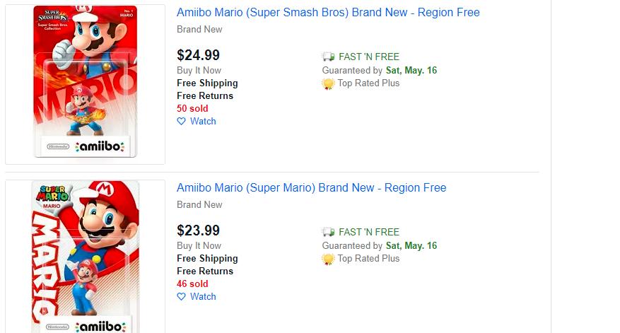 amiibo prices