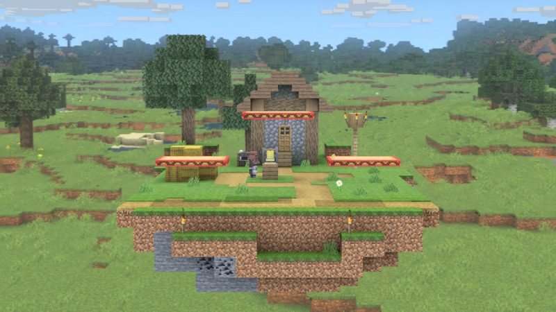 Should Minecraft World be legal in the amiibo stagelist?