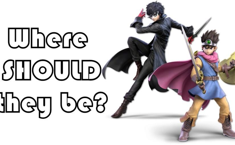 Where's Joker and Hero on the amiibo tierlist?